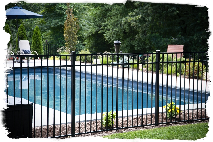 eastern ornamental aluminum fence panels